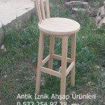 Bar Sandalyesi (Ahşap)